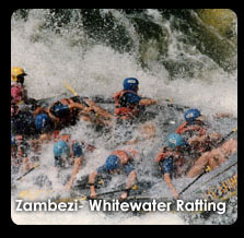 Anthony Turton | Shaking Hands With Billy, Zambezi - Whitewater Rafting