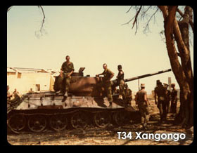 Anthony Turton | Shaking Hands With Billy, T34 Xangongo